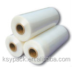 100% raw material for machine use clear lldpe stretch film