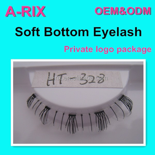 natural look hand tied bottom lashes fashion style good quality lash 508