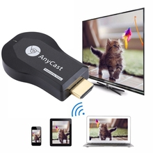 AnyCast M9 Plus Wireless WiFi Display Dongle Receiver Airplay Miracast DLNA 1080P TV Stick for iPhone and other Android phone