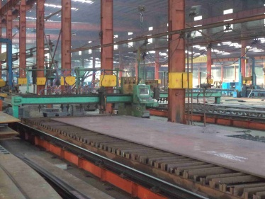 Steel Structure Materials - Cutting