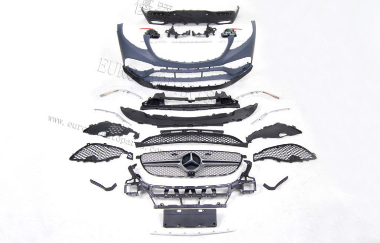 GLE63 coupe body kits fit for MB GLE-class GLE300 GLE350 GLE400 GLE450 coupe to GLE63 body kits for GLE