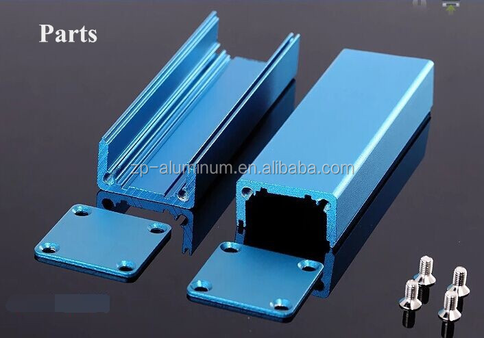 Guangzhou custom aluminum extruded enclosure