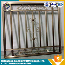 Customized Decoration steel security windows and doors