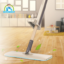 Houseware boomjoy cleaning products 360 twiest magic microfiber floor cleaning super flat mop