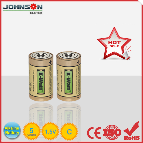 Competitive price powerful alkaline 1.5v c size R14P battery