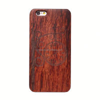 New Style PC+Wood back Cover Phone Case For iPhone 5