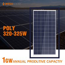 Morege A grade pv poly 300w 320w 325w 36v solar panel / module with best price