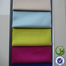 Satin Fabric 3 Pass Blackout White Back Coated Fabric for Curtains and Drapes for Hotel Projects