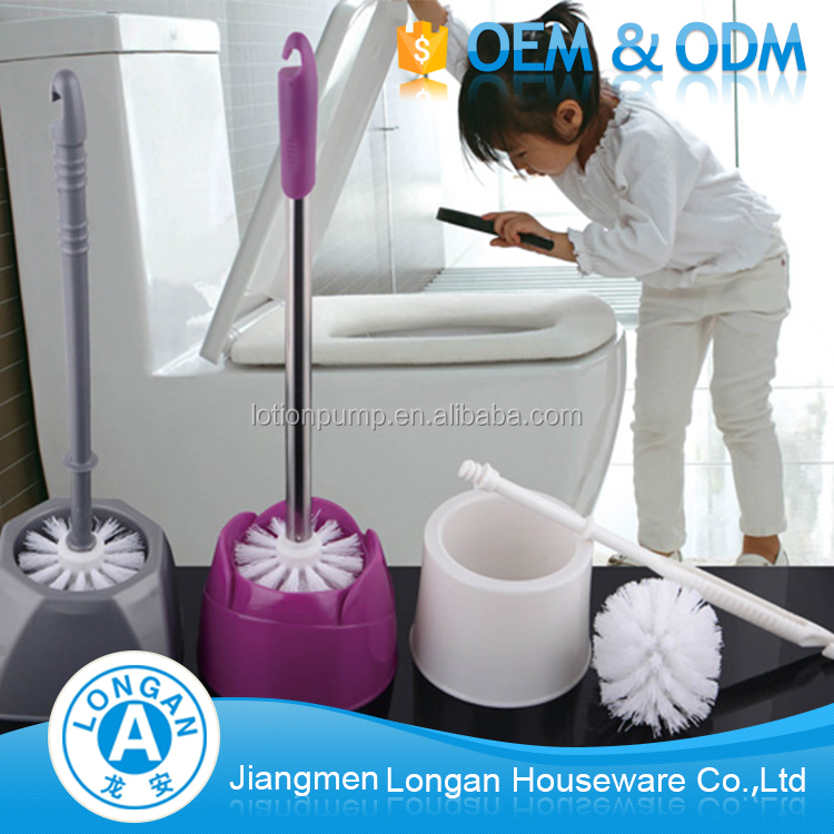 Wholesale factory price promotional bathroom cleaning product cleaning plastic toilet brush holder