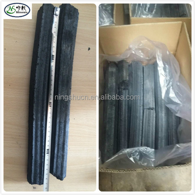 Smokeless Sawdust Briquette Charcoal Square or Hexagon shape
