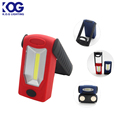 3W COB +3 LED working light, Plastic Foldable magnetic Work Light , Outdoor COB led work light