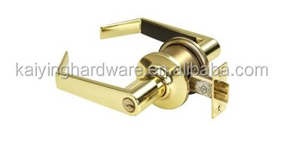 Zinc Alloy Lever Keyed Bathroom Door Lock/ Door Knob Hardware Knob Lever and Closet Leverset Lockset