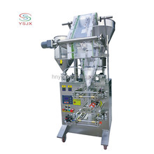 high quality automatic three diffrent materials granule/liquid/powder popcorn packing machine