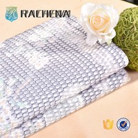 high quality 100%polyester guipure fabric,100%polyester different types of fabric,yarn dyed net garment fabric
