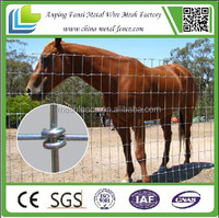 alibaba china supplier hinge joint 1400mm galvanized steel field horse fencing