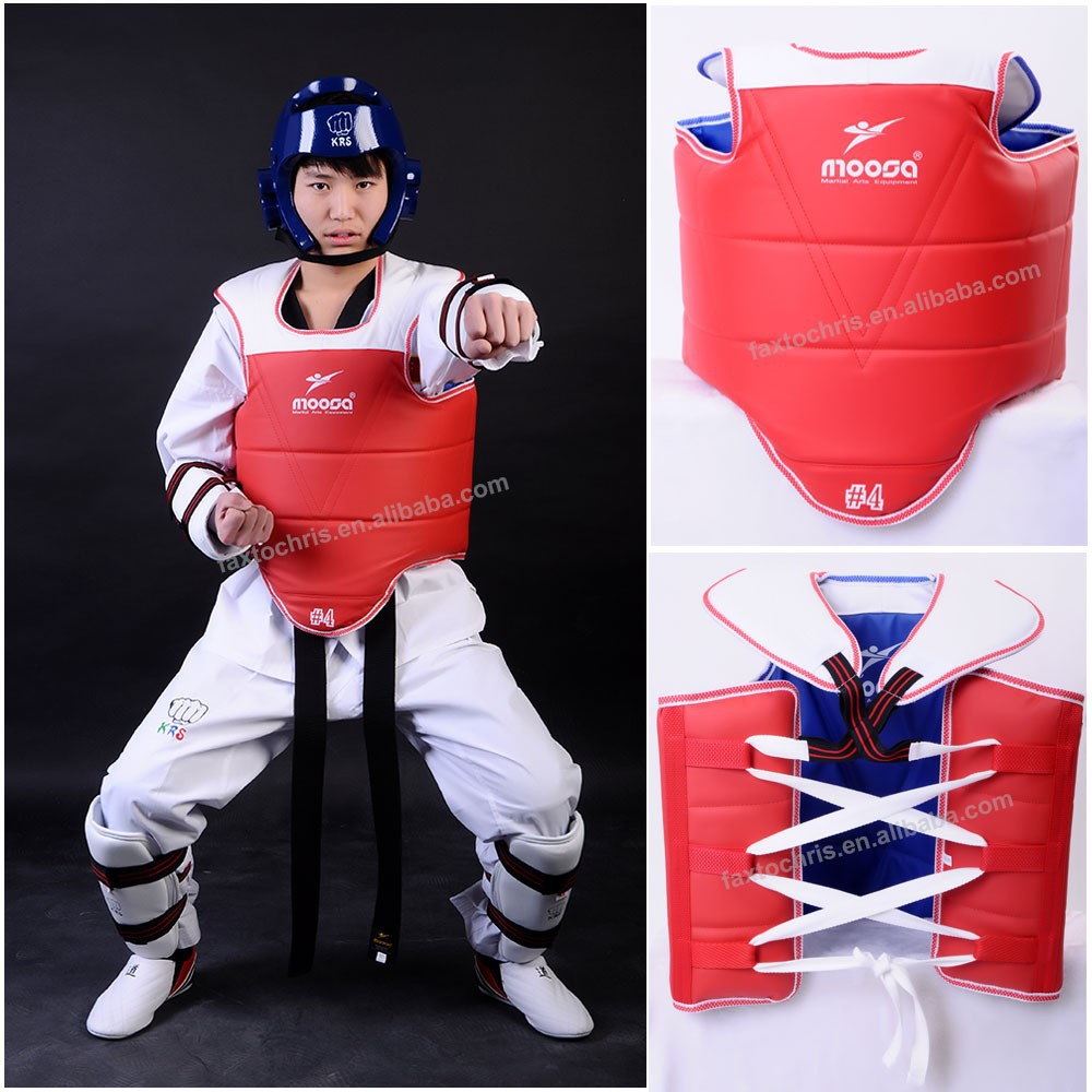 Taekwondo chest guard / body protector / taekwondo equipment