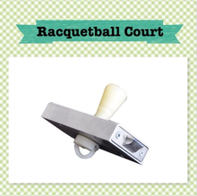 racquetball court glass wall fittings
