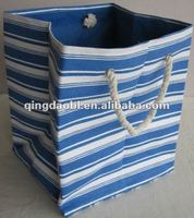 OBLONG PAPER JUTE LAUNDRY BAG