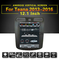 10.4 inch full touch screen car dvd gps for nissan teana 2013-2016 with android 6.0 system