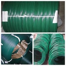 Good quality Wholesale High Tension Strength PVC coated wire Hot dip Galvanized wire for binding wire