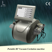 Vacuum cavitation rf machine, RF&cavitation&vacuum&ultrasonic 4in1, cheap price but good quality