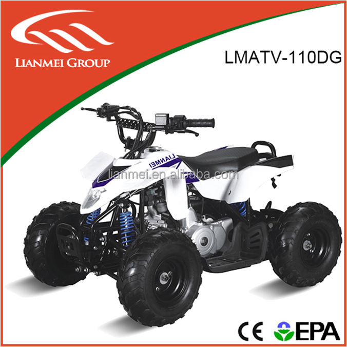 High Quality Chain Transmission Water Cooled Sport ATV 110CC LMATV-110DG