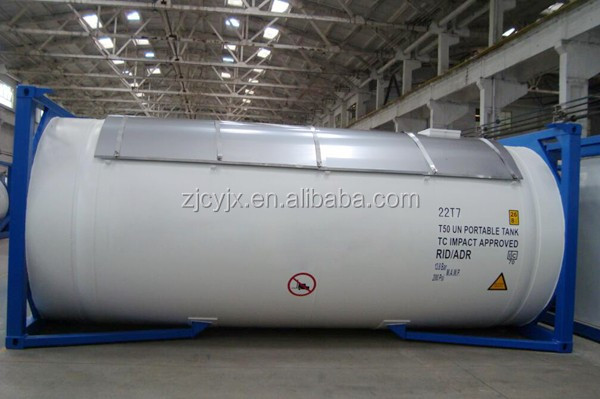 ASME standard 40ft 20ft lng tank container gas container