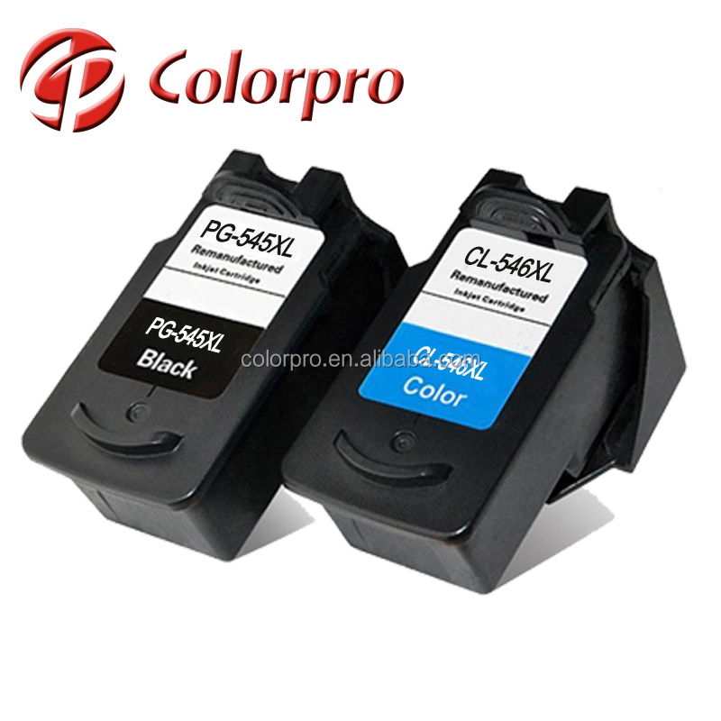 Recycled ink cartridge pg 545 cl 546 for Canon pg 545xl cl 546xl