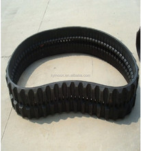 machinery parts of rubber track, robot rubber track, snowmobile rubber track
