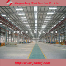 Prefabricated Design Stainless Steel Structures Building Roofing Shed
