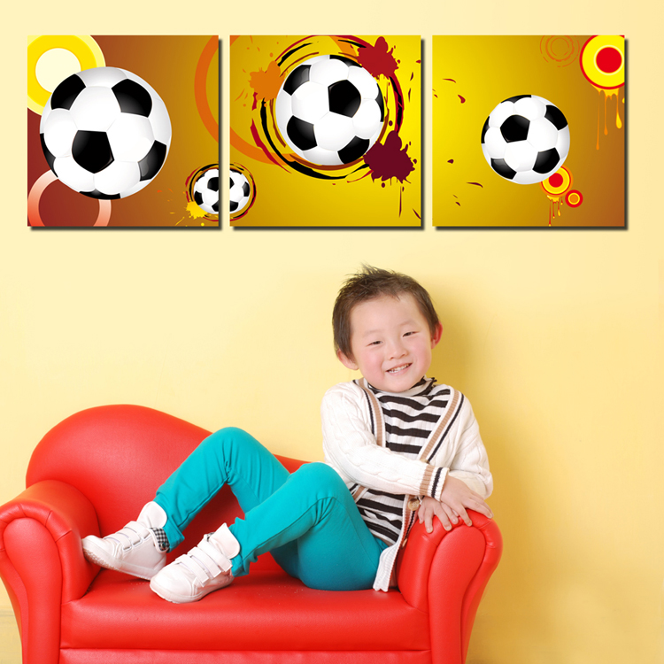 Custom 3d kids funny photo oil painting for Room decoration