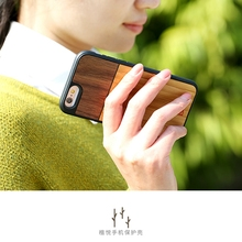 New high quality wood bamboo phone case Wholesale Custom Case wood phone case for iPhone 6 6S