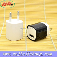mobile accessories wall charger cell phone super charger 5v 1a slim micro usb travel charger