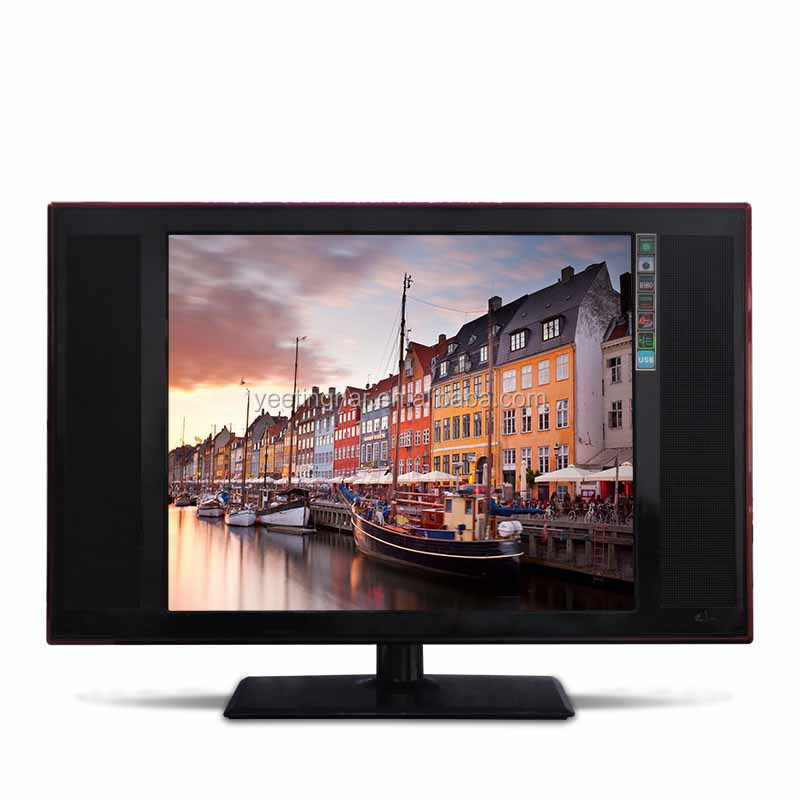 Hot sale small size 15 17 19 22 inch DC led tv for home use