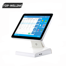 T151POS 15 inch Flat Capacitive All in One Touch Screen POS Terminal/System