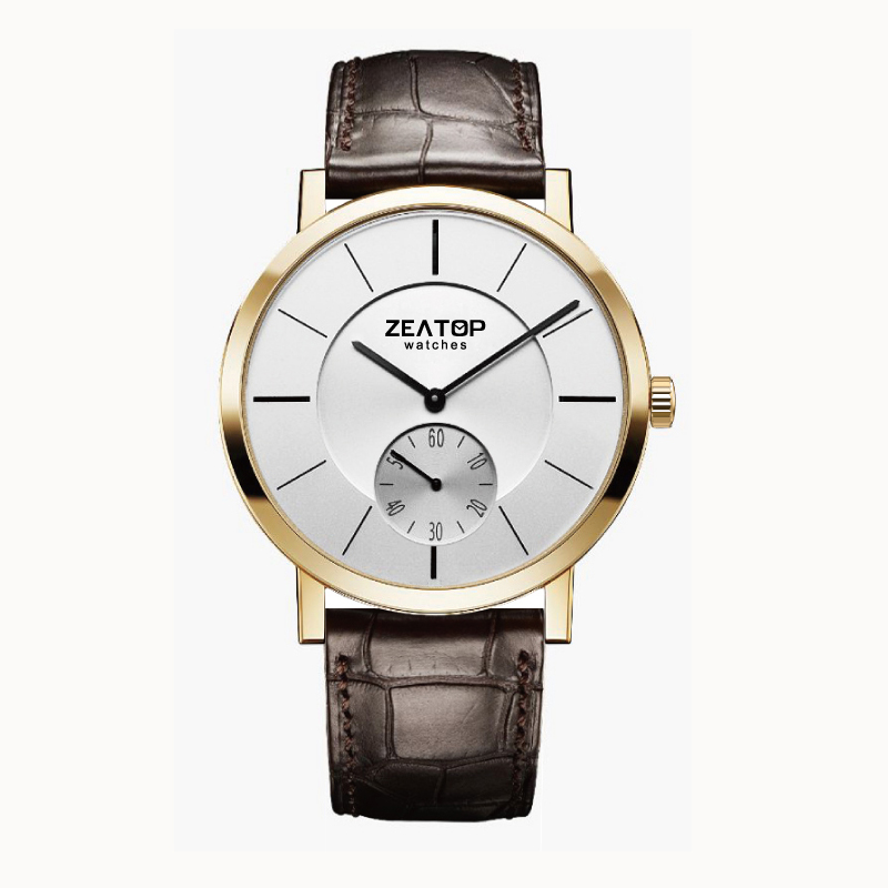 High-end Custom Private Label Rose Gold Watch Men Mechanical Watch