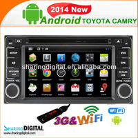 Android 4.2.2 system 8G Nand Flash 3G WIFI TYT-7930GDA for TOYOTA RAV4 CAMRY Autoradio GPS navigation
