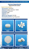 High test Hypochlorite calcium hypochlorite for swimming pool stock