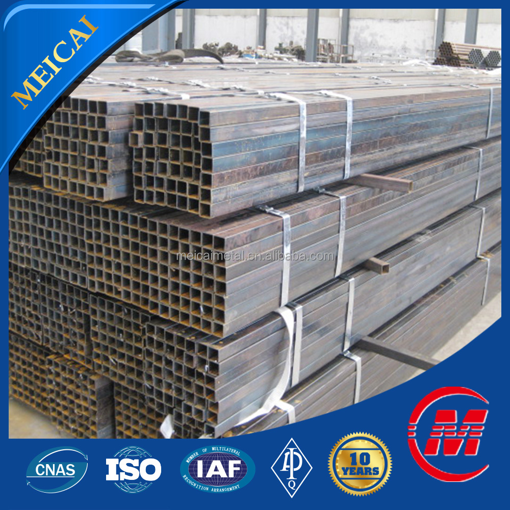 china supplier mild steel seamless square rectangular pipe/tube