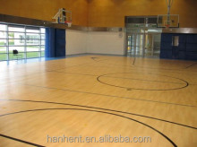 Vinyl basketball courts flooring for sale