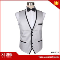 Fashion New Style Restaurant Waiter Vest For Men