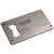 Engraved Matte metal business card bottle opener