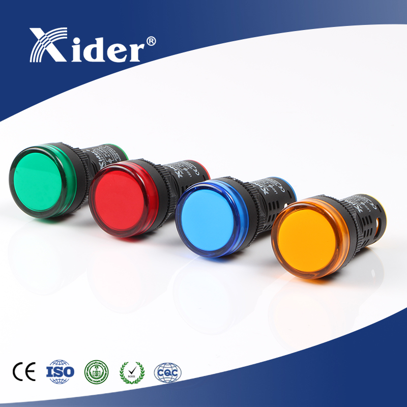 Xider AD22-22DS 22mm LED Signal pilot indicator lamp with factory price