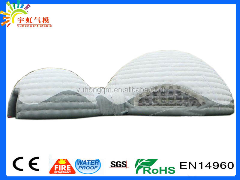 Biggest Inflatable round tent party and wedding inflatable dome house