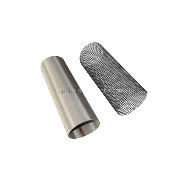 Food Grade Stainless Steel Filter Terp Tubes for Rosin Press 25 50 75 Micron Mesh