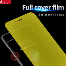 New Upcoming ! Factory Supply 3D Full Cover Nano Anti Shock Screen Protector Film for Iphone 7 / 7 plus