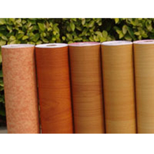 Pvc wood grain heat transfer lamination shrink pvc film for furniture pvc membrane foil for mdf