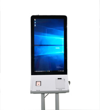 32 inch Automatic Ordering Self Service Touch Screen Payment Metal Kiosk Factory
