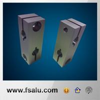 Customized non-standard metal parts aluminium block for machining