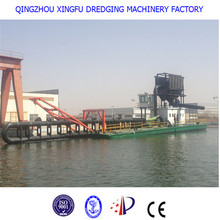 Diesel small sand dredging boat, equipment, machine, ship, vessel for sale